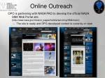online outreach