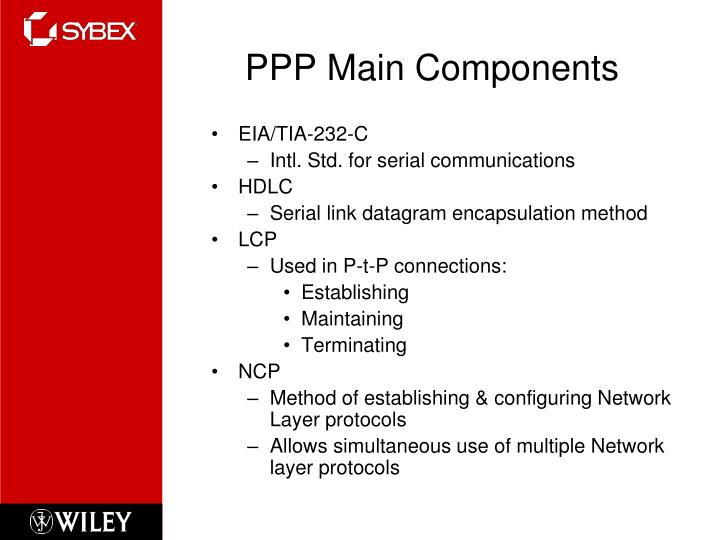 PPP Main Components