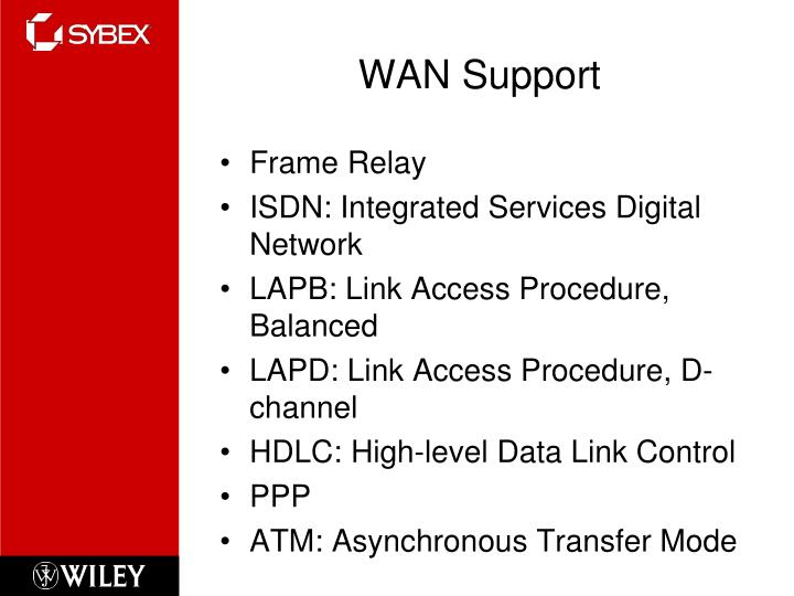 WAN Support