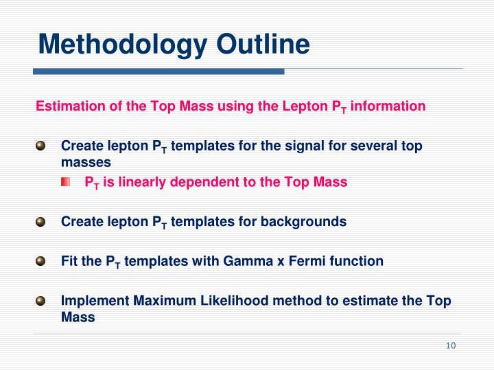 Methodology Outline