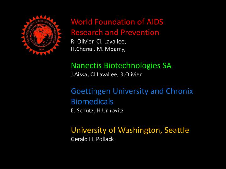 World Foundation of AIDS