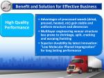 benefit and solution for effective business2