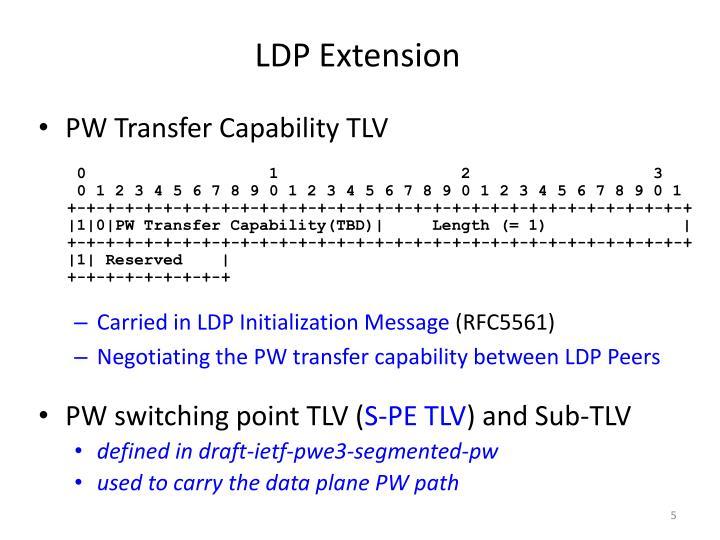 LDP Extension