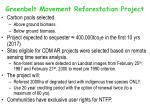 greenbelt movement reforestation project
