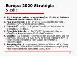 eur pa 2020 s trat gia 5 c l