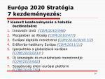 eur pa 2020 s trat gia 7 kezdem nyez s
