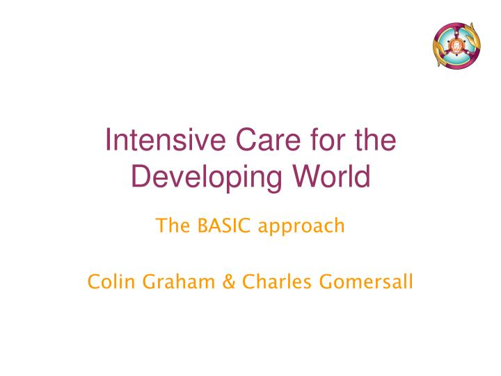 the basic approach colin graham charles gomersall n.