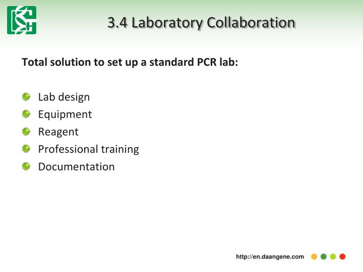 3.4 Laboratory Collaboration