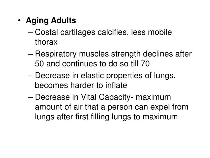 Aging Adults