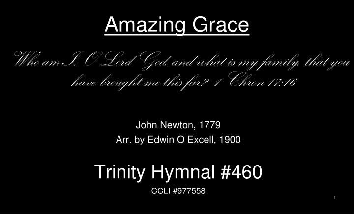 amazing grace n.