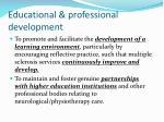 educational professional development