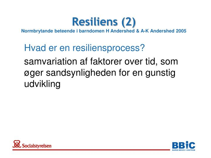 Resiliens (2)