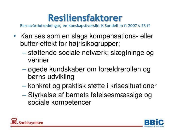 Resiliensfaktorer