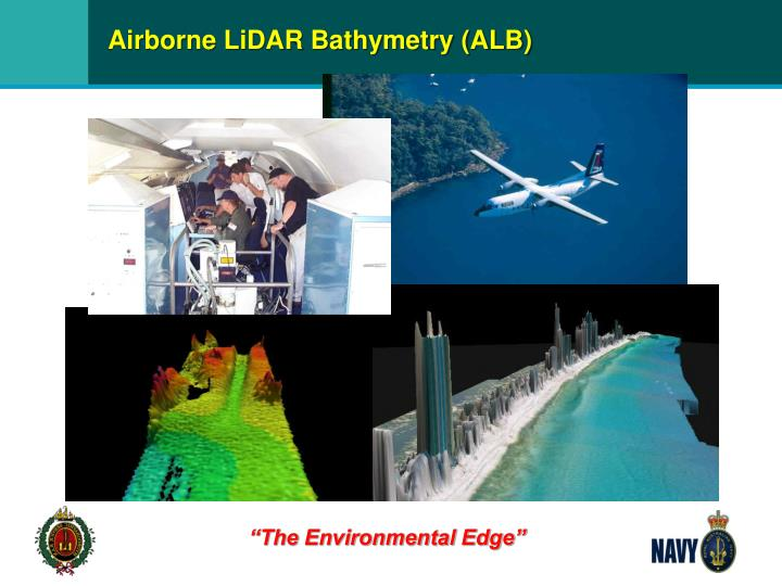 Airborne LiDAR Bathymetry (ALB)