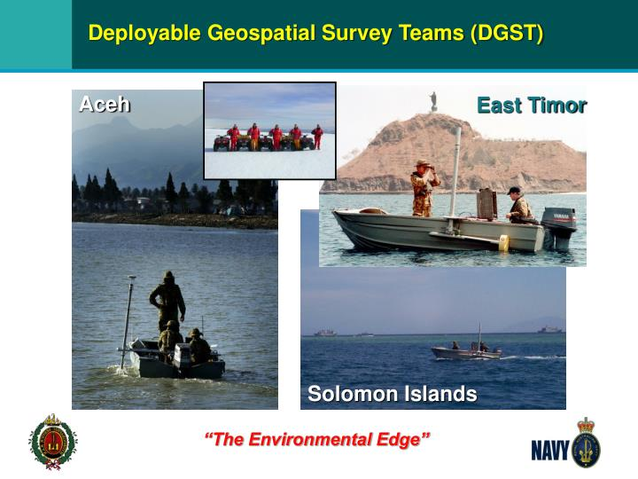 Deployable Geospatial Survey Teams (DGST)