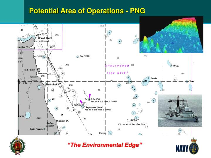 Potential Area of Operations - PNG