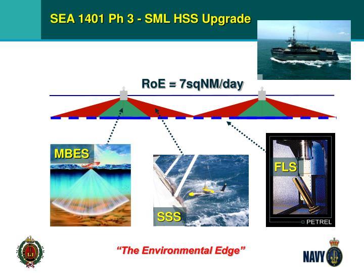 SEA 1401 Ph 3 - SML HSS Upgrade