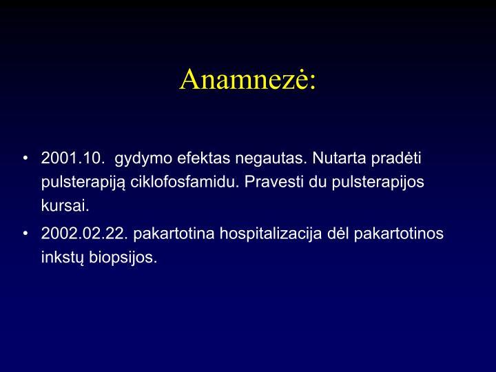 Anamnezė