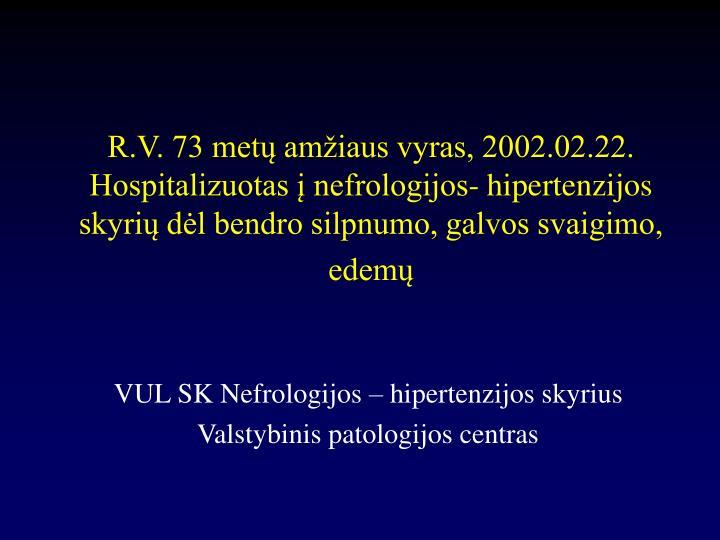 Kas naujo arterinės hipertenzijos diagnostikos ir gydymo gide? | profine.lt