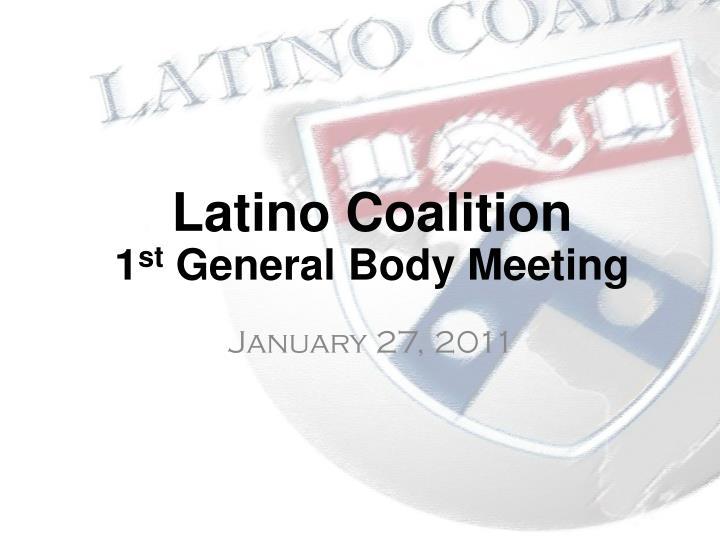 Latino Coalition