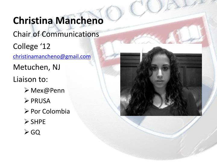 Christina Mancheno