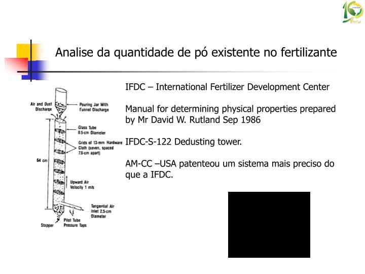 IFDC – International Fertilizer Development Center
