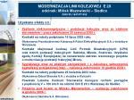 modernizacja linii kolejowej e 20 odcinek mi sk mazowiecki siedlce 2000 pl 16 p pt 0024