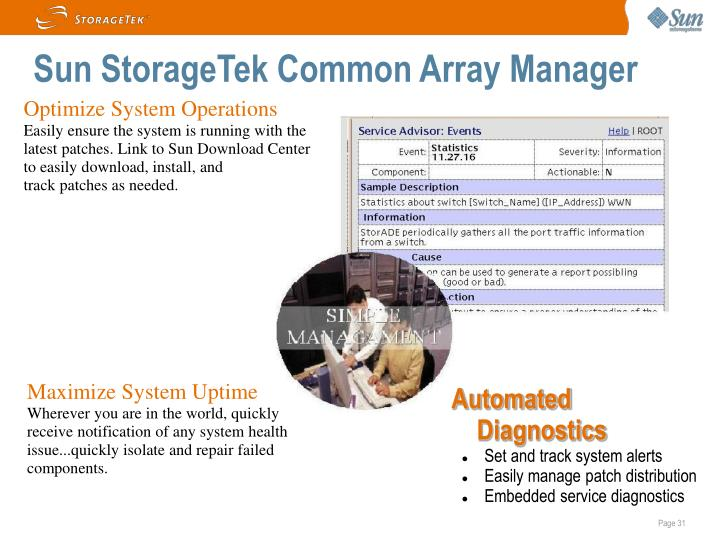 Sun StorageTek Common Array Manager