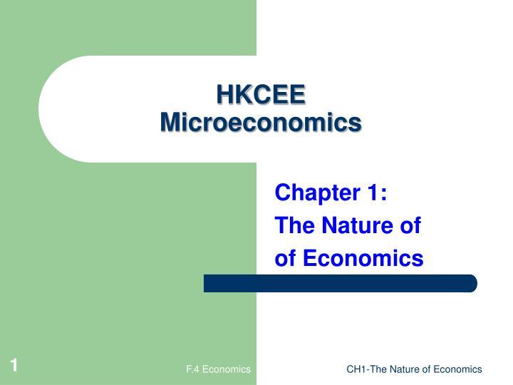 PPT HKCEE Microeconomics PowerPoint Presentation ID 3333984