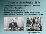 crisis in little rock 1957