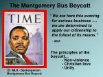 dr mlk spokesperson montgomery bus boycott
