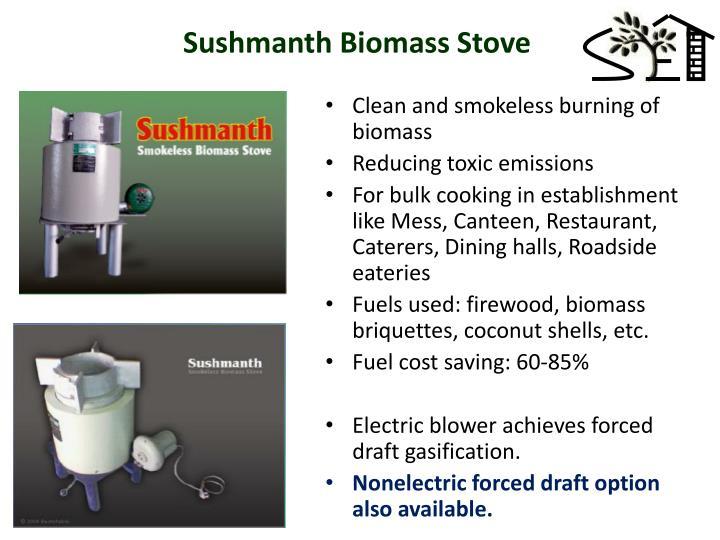 Sushmanth Biomass Stove