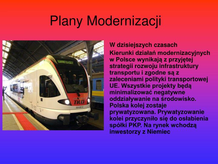 Plany Modernizacji