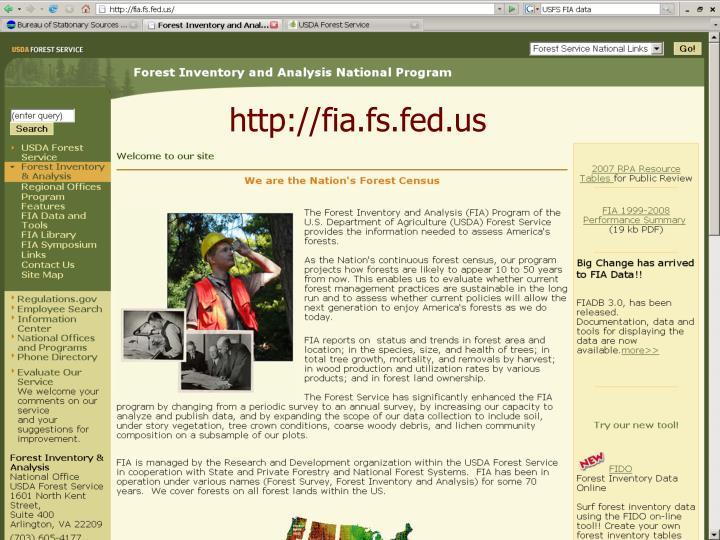 http://fia.fs.fed.us