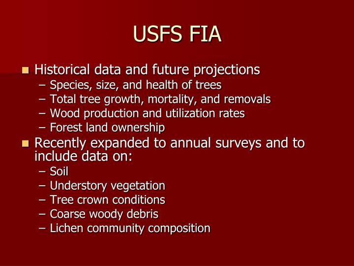 USFS FIA
