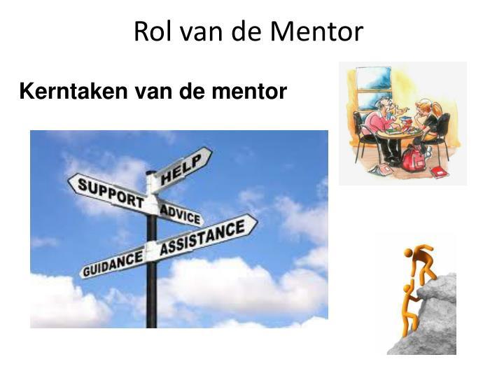 Rol van de Mentor