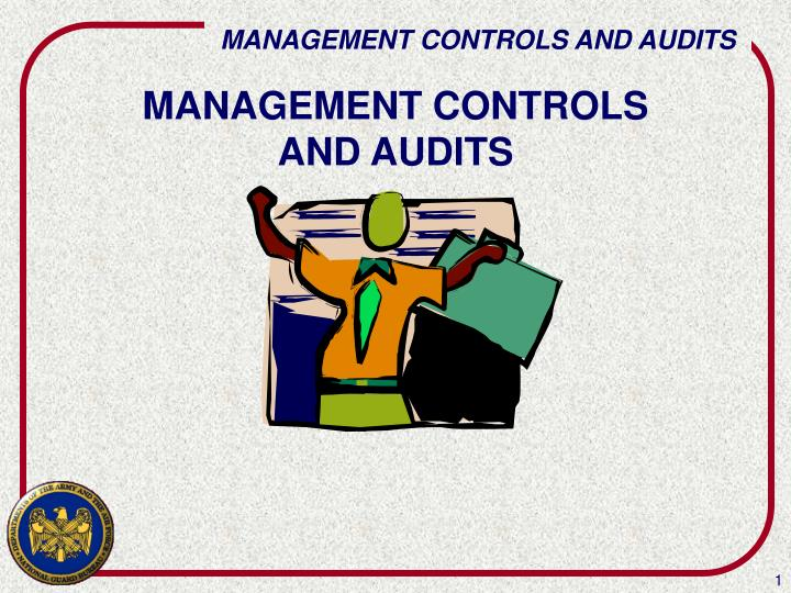 management controls and audits n.