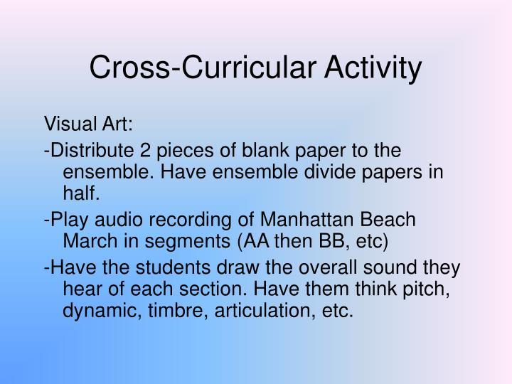 Cross-Curricular Activity