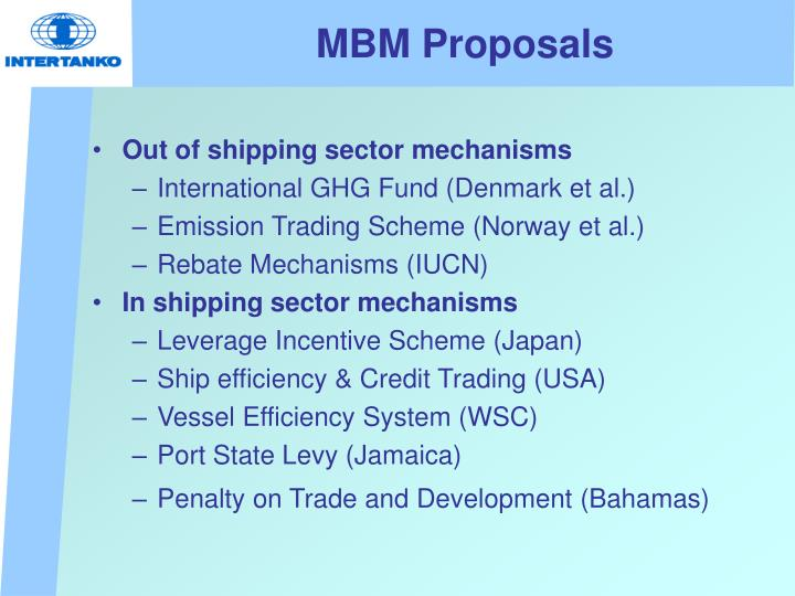 MBM Proposals