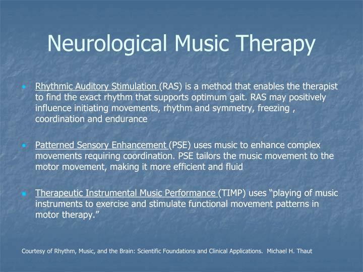 Neurological Music Therapy