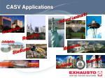 casv applications