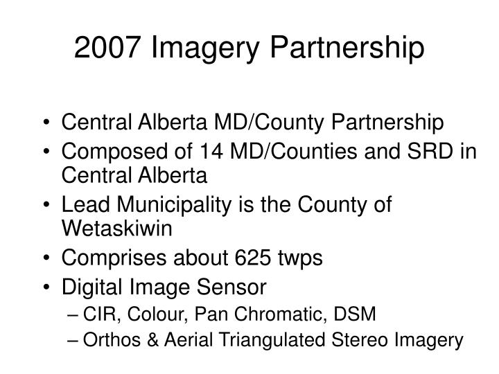 2007 Imagery Partnership