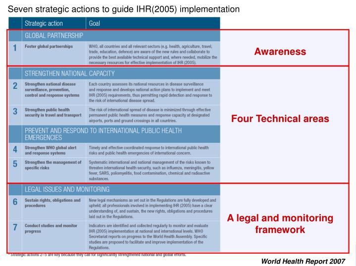 Four Technical areas