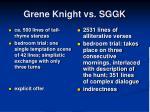 grene knight vs sggk