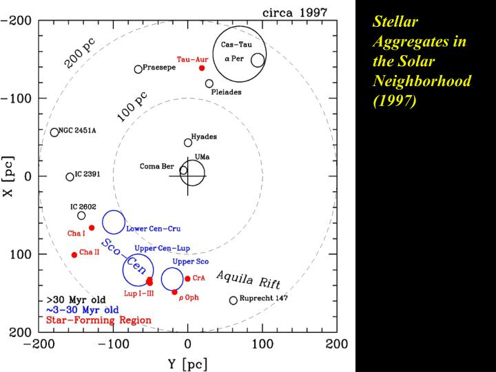 Stellar Aggregates in the Solar Neighborhood
