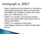 scintigraph vs spect