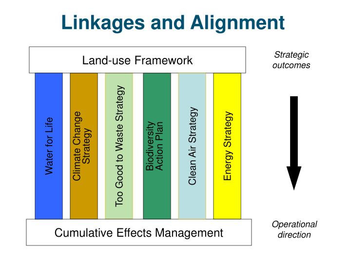 Linkages and alignment