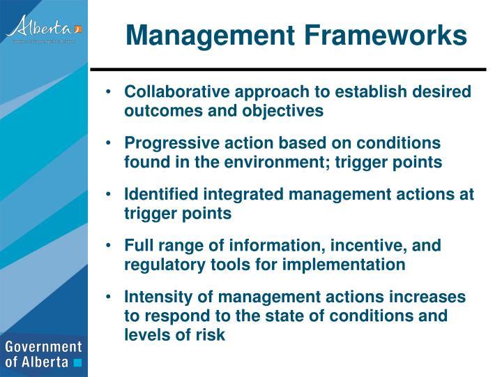 Management Frameworks