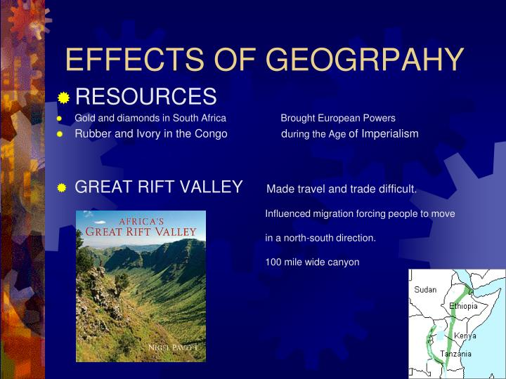 EFFECTS OF GEOGRPAHY