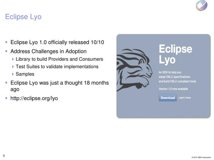 Eclipse lyo